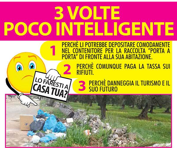 Multe fino a 3mila euro per l'abbandono dei rifiuti