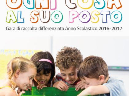 """""""Ogni cosa a suo posto"""" – A Crispiano la gara di raccolta differenziata edizione 2016/2017."""