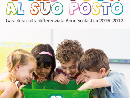 """""""Ogni cosa a suo posto"""" – A San Vito dei Normanni la gara di raccolta differenziata edizione 2016/2017."""