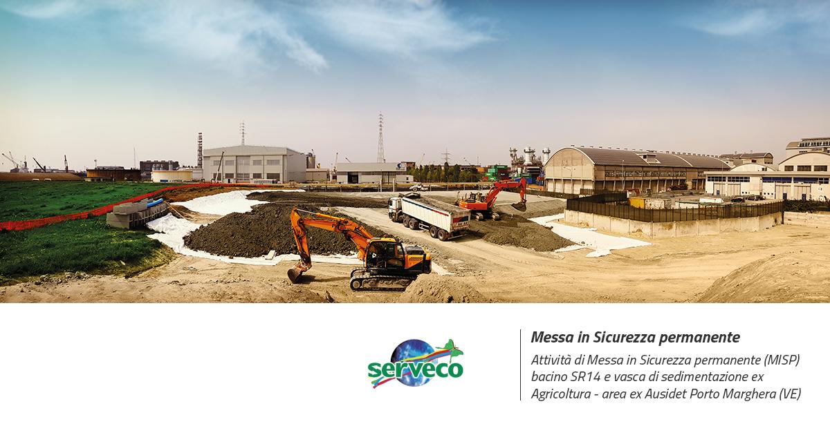 Porto marghera, bonifica sito contaminato