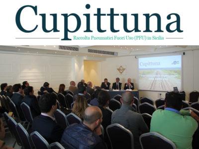 Cupittuna. Presentazione dell'attività di raccolta degli Pneumatici Fuori Uso in Sicilia