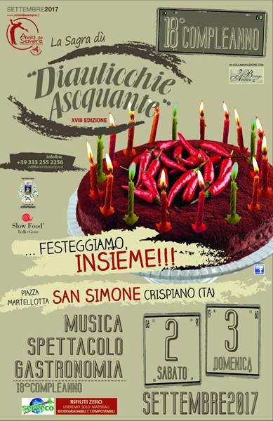 San Simone Calendario.Crispiano Serveco