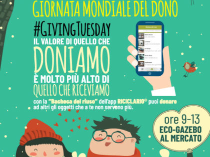 #GivingTuesday: 27 novembre, Giornata Mondiale del Dono.