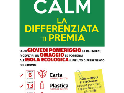 Keep Calm, la differenziata ti premia