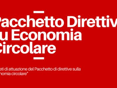 Pacchetto Direttive su Economia Circolare