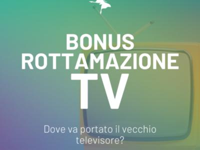 Il Bonus rottamazione TV